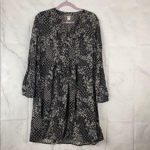 Old Navy Bandana Print Shirt Dress Large